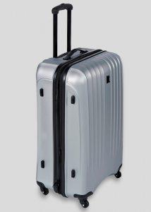 Les valises à coque dure sont recommandées