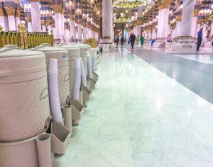 Marble floor in Masjid al-Haram