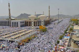 Thousands of pilgrims gather in Arafat during Hajj
