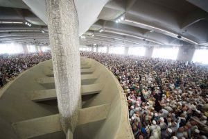 It can become extremely crowded at the Jamarat