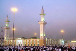 Masjid Mashar al-Haram in Muzdalifah