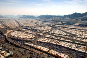 Mina is known as the Tent City