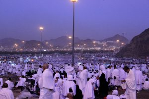 Muzdalifah at dawn