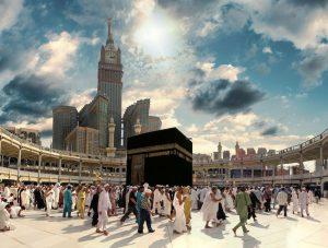 Pilgrims performing Tawaf
