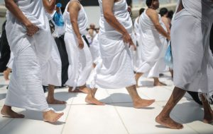 Idtiba and Raml is performed during certain types of Tawaf